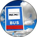 Panneau de bus